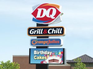 Cabinet Signs 0092 Dairy Queen Bendsen Sign  Graphics W 19mm 80x176 Bloomington IL 101718 1 300x225