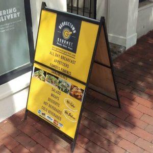 Sidewalk Signs 5b561073f0fa3 restaurant aframe menu storefront outdoor indoor custom vinyl mural collection 300x300