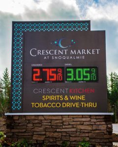 Digital Signs & Message Centers monument digital message outdoor custom 240x300